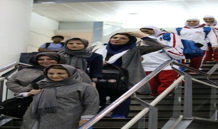 بازگشت بسکتبالیست های تیم ملی دختران زیر 16 سال  از مسابقات آسیایی