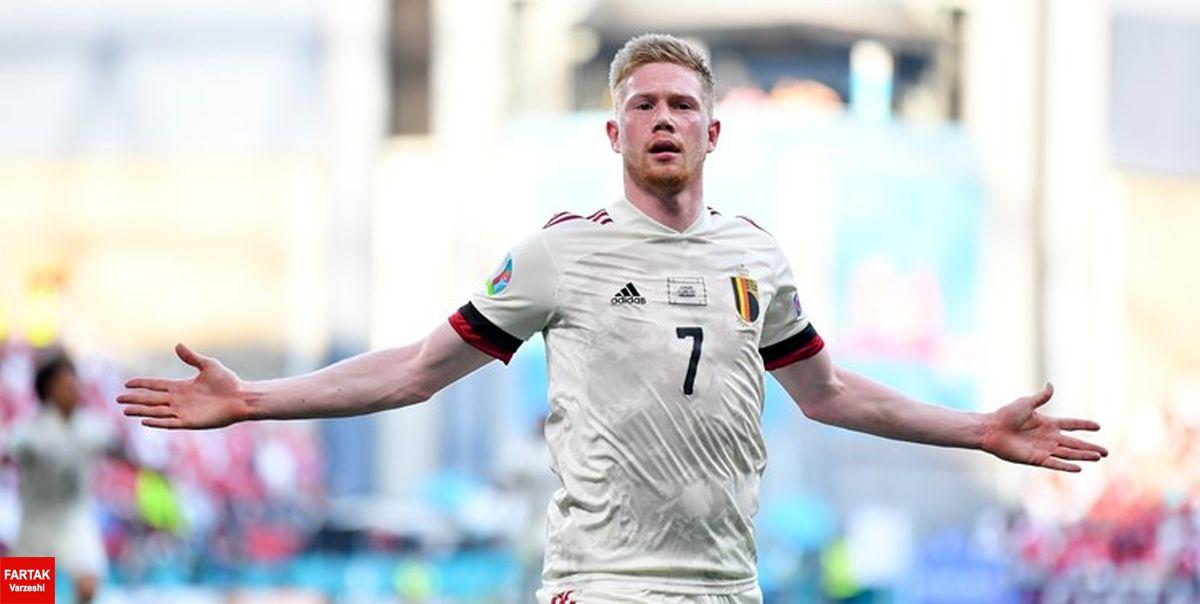 یورو 2020 کامبک بلژیک مقابل دانمارک/صعود شیاطین سرخ در شب بدشانسی یاران اریکسن