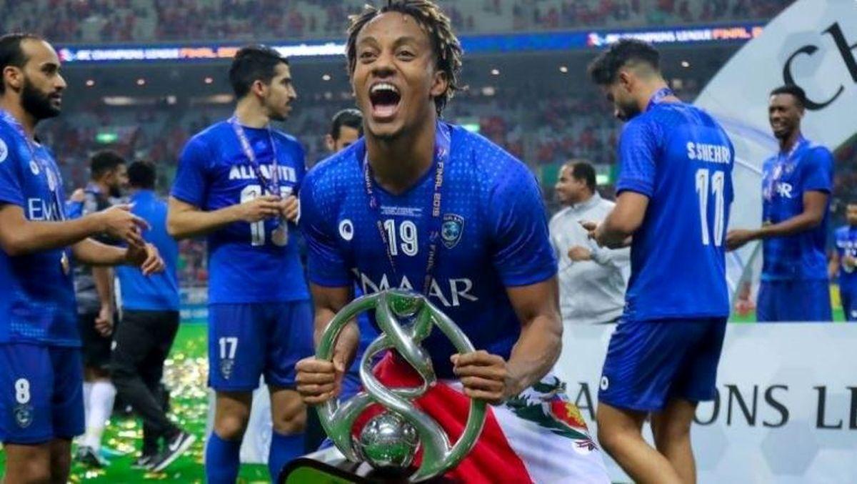 لیگ فوتبال عربستان برد پرگل حریف پرسپولیس با درخشش گومیس
