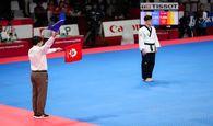 یک طلا و یک نقره سهم ایران در نخستین روز بازی های آسیایی
