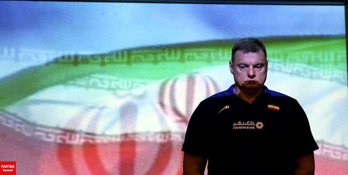 سرمربی ایران بازهم مصاحبه نکرد