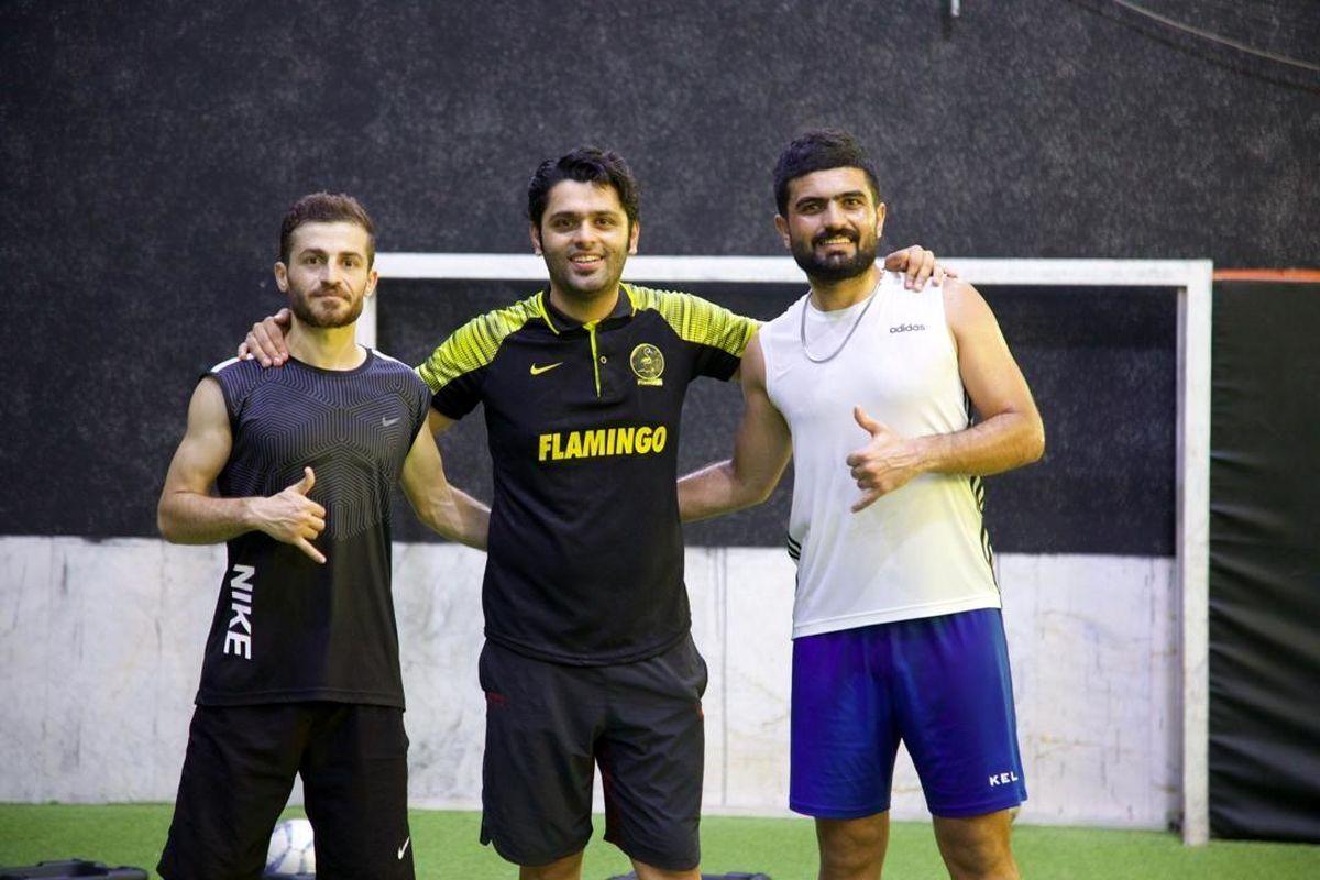 تمرینات فرحان شکور برای حضور در لیگ سوئد