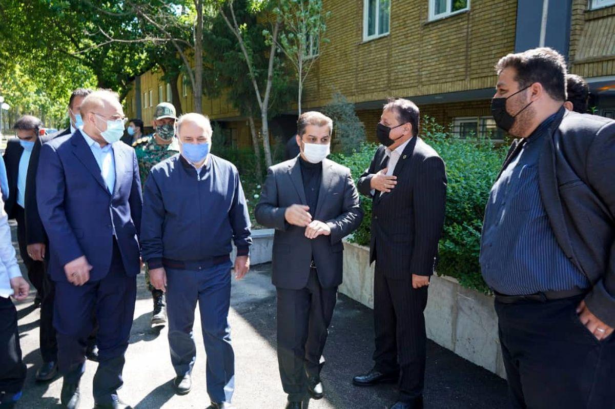 حضور محمدرضا ساکت در مراسم افتتاح خانه کشتی شهید صدرزاده