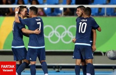 حذف آرژانتین از المپیک