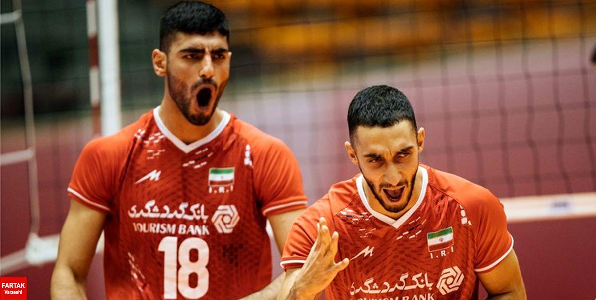 والیبال نوجوانان جهان| قدرتنمایی ایران در گام نخست