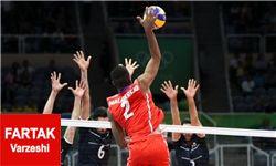 بازگشت امید به اردوی والیبال/ ایران 3 کوبا 0
