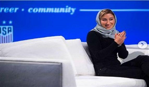 مربی زن ایرانی کاندیدای بهترین مربی سال