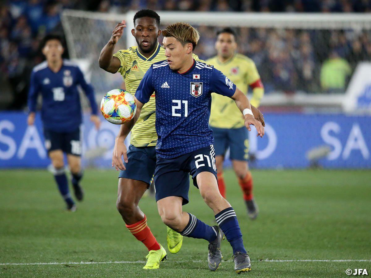 پیروزی ژاپن مقابل ساحل عاج دقیقه 1+90