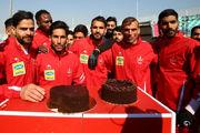 تمرین یک ساعته پرسپولیسی ها و جشن تولد برای سیدجلال، نوراللهی و شیری