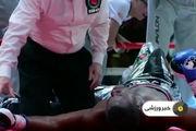 مرگ هاتریکس دی بوکسور آمریکایی در مسابقه + فیلم
