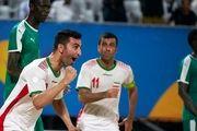 کسب مدال برنز توسط تیم ملی فوتبال ساحلی ایران