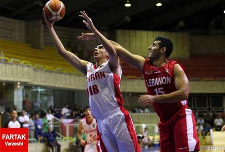 بسکتبالیست های جوان مقابل لبنان به پیروزی رسیدند