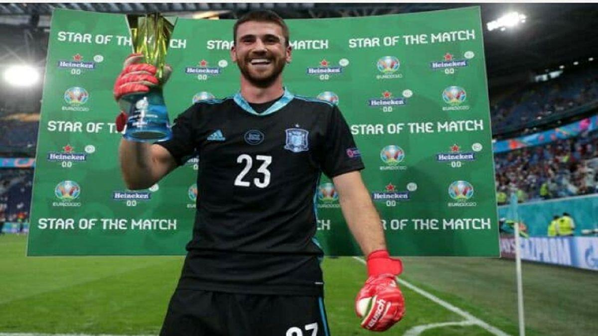 «سیمون» بهترین بازیکن دیدار تیمهای ملی فوتبال اسپانیا - سوئیس شد