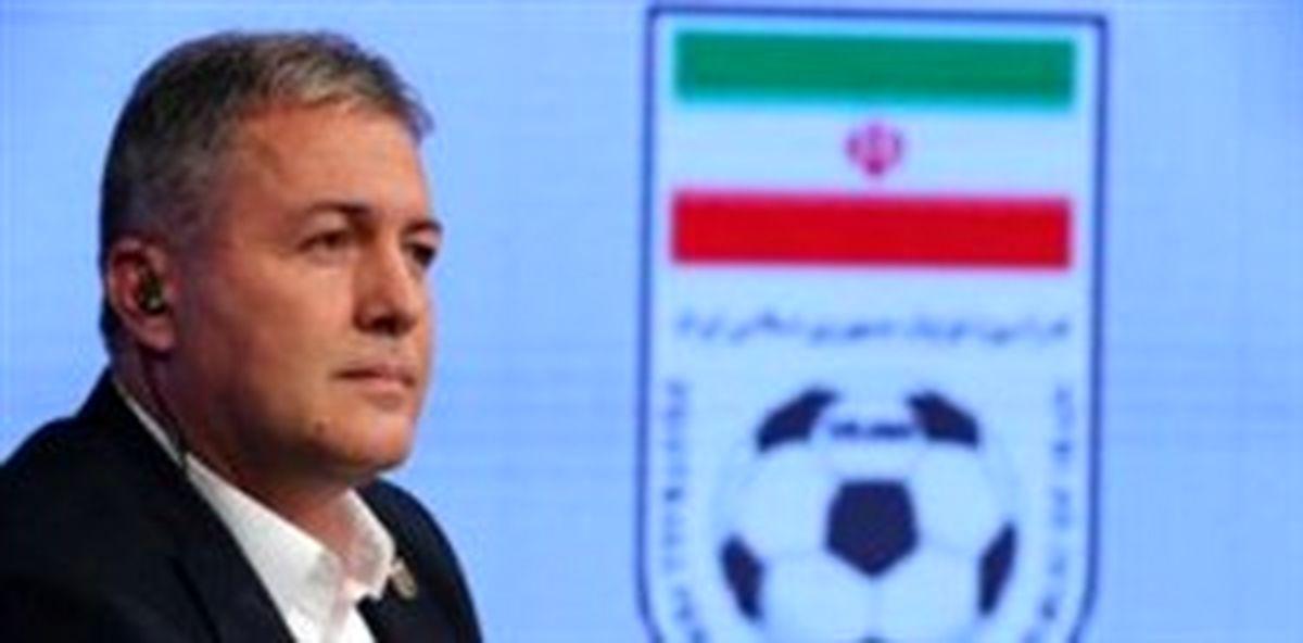 اسکوچیچ:فوتبال یک رشته مردانه است