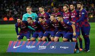 رونمایی از ترکیب اصلی دو تیم اینتر و بارسلونا