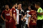 واکنش بازیکن رم به اتفاقات جنجالی دیشب مقابل کریستیانو رونالدو