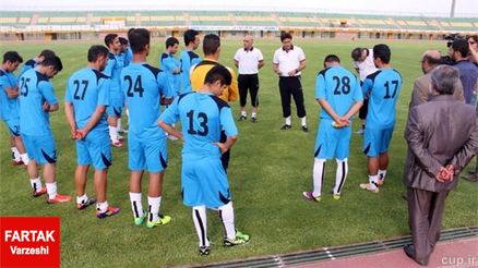 پیروزی پرگل تیم صبای قم مقابل تیم امید شهرداری اردبیل