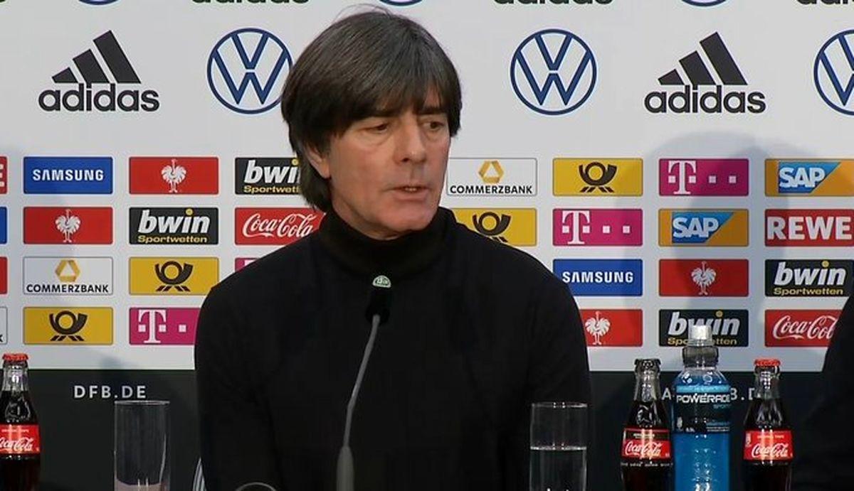سرمربی تیم ملی آلمان:به انتقادات اهمیتی نمی دهم