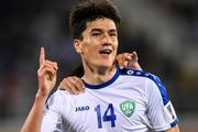 مهاجم جنوا به اردوی تیم ملی ازبکستان برای دیدار با ایران ملحق شد