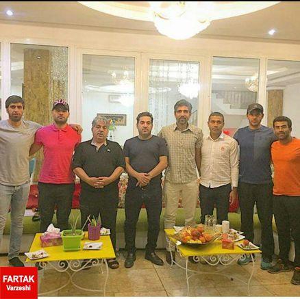 محسن کریمی رسما هدایت شهدای رزکان البرز را به عهده گرفت+عکس