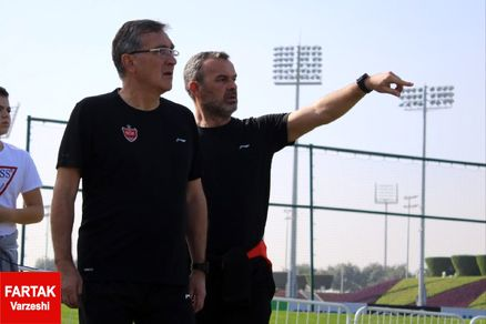 برانکو به تماشای تمرین دو تیم اروپایی رفت