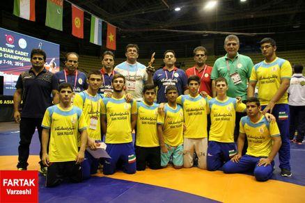 برگزاری اردوی تیم ملی کشتی فرنگی در کرج