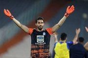 حسینی: داور ابتدا نقطه پنالتی را نشان داد و بعد پشیمان شد