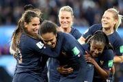 جام جهانی فوتبال زنان؛ شب باشکوه فرانسه با عبور از برزیل