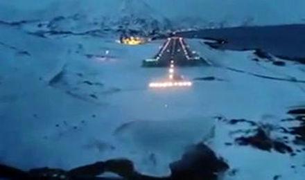 منهای ورزش/ زاویه دید خلبان هنگام فرود در یکی از خطرناکترین فرودگاههای جهان + فیلم