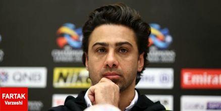 مجیدی: از تلاش بازیکنانم بسیار راضی هستم اما از نتیجه بازی نه!