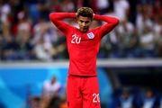 دله آلی دیدار امروز انگلیس مقابل پاناما را از دست داد