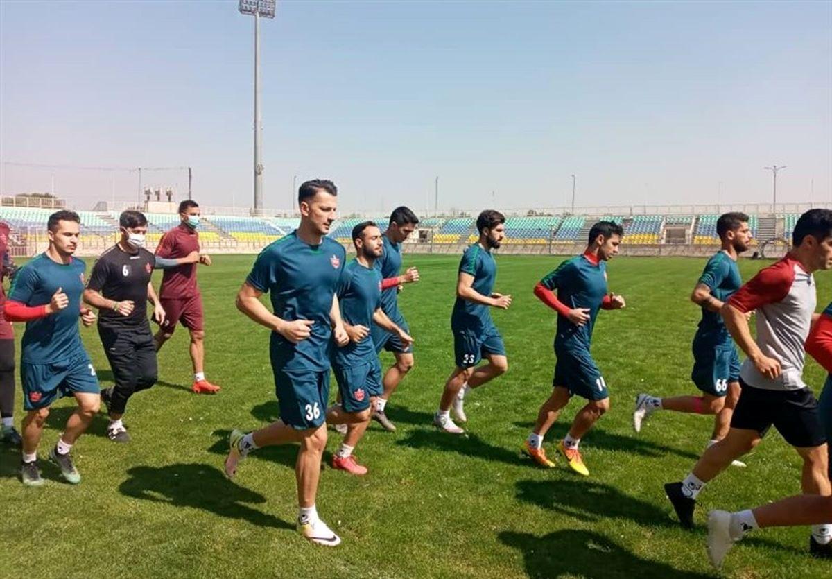 گزارش تمرین امروز شاگردان گلمحمدی