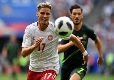 تصاویر/ دیدار تیم ملی استرالیا و دانمارک