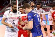 نبرد والیبال ایران با غول جدید والیبال جهان