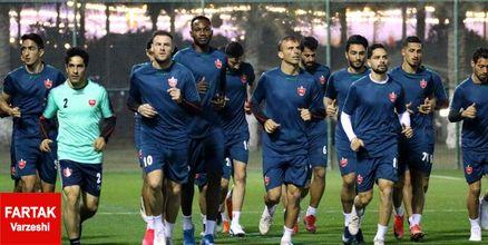 گزارش نخستین تمرین قرمزها در قطر