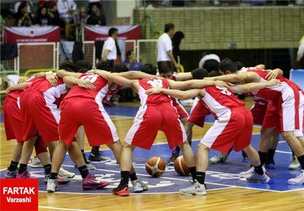 اهداء کاپ قهرمانی آسیا به جوانان بسکتبالیست