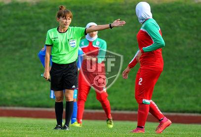 تصاویر/ نایب قهرمانی دختران ایرانی در فوتبال آسیا