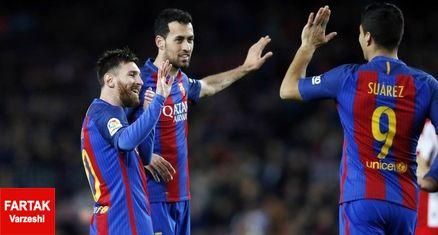ترکیب بارسلونا مقابل والنسیا اعلام شد