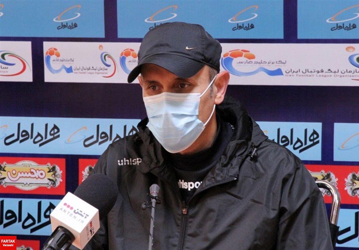 اعلام زمان نشست خبری گلمحمدی پیش از دیدار با ذوبآهن/ رضایی به نشست نمیرسد