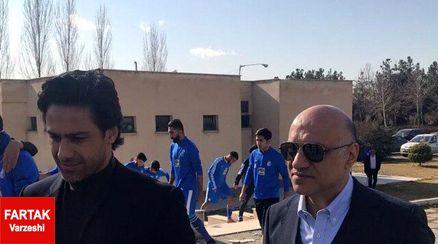 پایان اعتصاب/حضور فرهاد مجیدی و فتحی در تمرین امروز استقلال