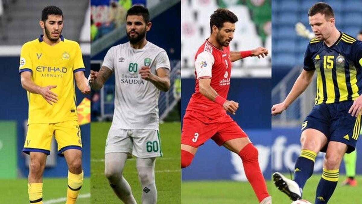 شجاع در بین چهار مدافع برتر لیگ قهرمانان ۲۰۲۰