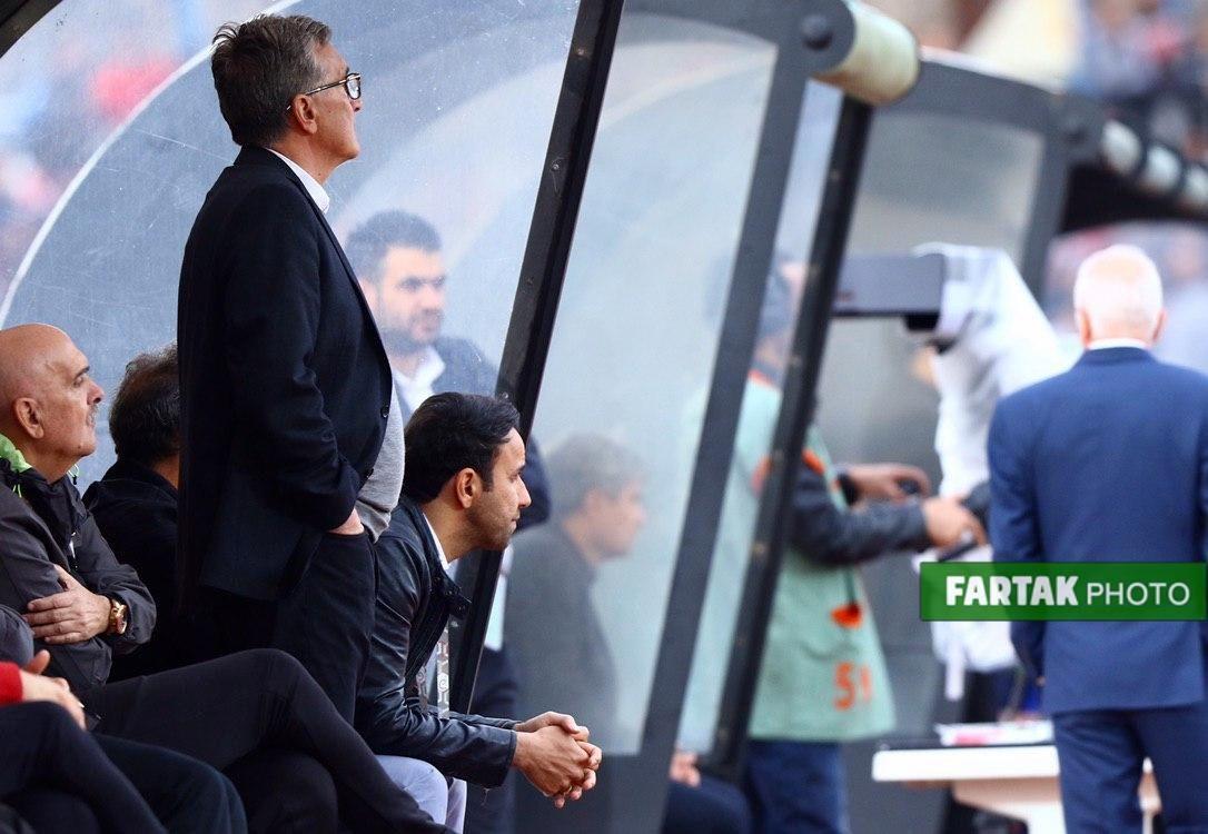 دیدار دو تیم پیکان 0  - 2 پرسپولیس به روایت تصویر