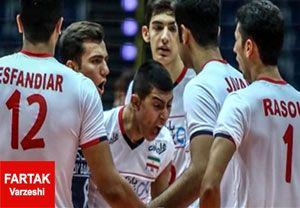 والیبال چین حریف ایران در فینال جوانان آسیا