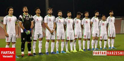 ترکیب تیم ملی امید برای دیدار با کره جنوبی مشخص شد