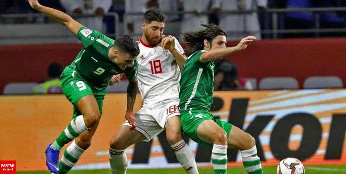 تیم داوری دیدار ایران با عراق مشخص شد