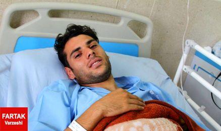 عمل جراحی هافبک تراکتورسازی در تبریز (عکس)