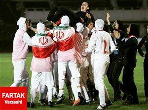 پخش زنده فوتبال بانوان ایران و لبنان