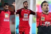 سه گانه تمدید قرارداد بازیکنان ملی پوش با پرسپولیس