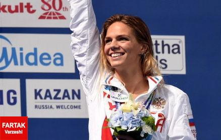 قهرمان شنای روسیه مجوز حضور در المپیک را دریافت کرد