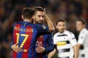 بارسلونا 4-0 مونشن گلادباخ؛ هت تریک آردا در شبی بیادماندنی
